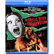 Produktbilde for The Erotic Rites Of Frankenstein (UK-import) (BLU-RAY)
