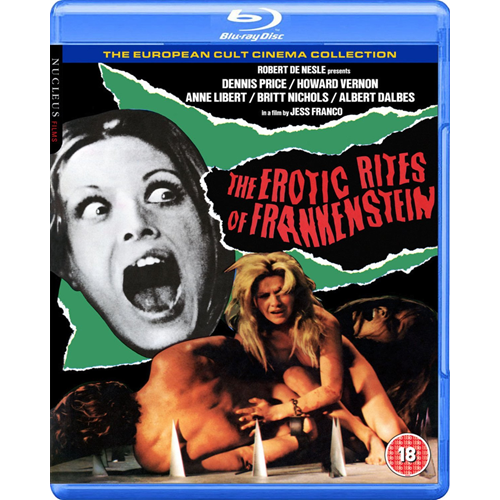 The Erotic Rites Of Frankenstein (UK-import) (BLU-RAY)