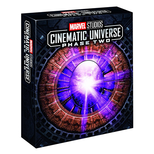 Marvel Studios Cinematic Universe: Phase Two (UK-import) (BLU-RAY)