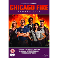 Chicago Fire - Sesong 5 (UK-import) (BLU-RAY)