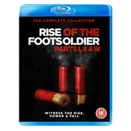 Produktbilde for Rise Of The Footsoldier - Parts I, II & III: The Complete Collection (UK-import) (BLU-RAY)