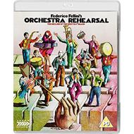 Produktbilde for Orchestra Rehearsal (UK-import) (BLU-RAY)