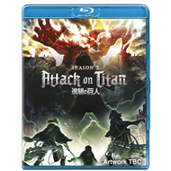 Attack On Titan - Sesong 2 (UK-import) (BLU-RAY)