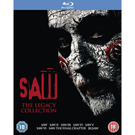 Produktbilde for Saw: The Legacy Collection (UK-import) (BLU-RAY)