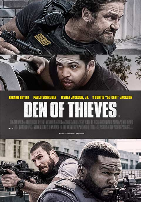 Skok stulecia / Den of thieves (2018)