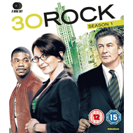 30 Rock - Sesong 1 (UK-import) (BLU-RAY)