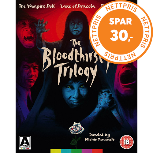 The Bloodthirsty Trilogy (UK-import) (BLU-RAY)