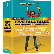 Five Tall Tales: Budd Boetticher & Randolph Scott At Columbia... (UK-import) (BLU-RAY)
