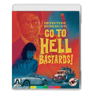 Detective Bureau 2-3: Go To Hell Bastards! (UK-import) (BLU-RAY)