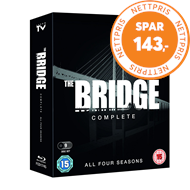 Produktbilde for The Bridge: The Complete Series I-IV (UK-import) (BLU-RAY)