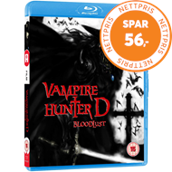 Produktbilde for Vampire Hunter D - Bloodlust (UK-import) (BLU-RAY)