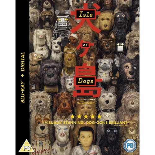 Isle Of Dogs (UK-import) (BLU-RAY)