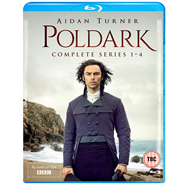 Poldark - Sesong 1-4 (UK-import) (BLU-RAY)