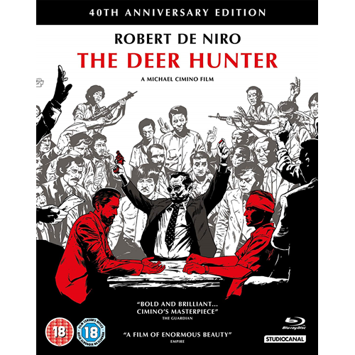Hjortejegeren / The Deer Hunter - 40th Anniversary Edition (UK-import) (BLU-RAY)