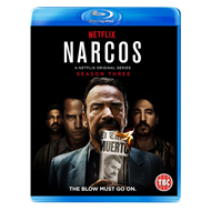 Narcos - Sesong 3 (UK-import) (BLU-RAY)