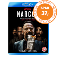 Produktbilde for Narcos - Sesong 3 (UK-import) (BLU-RAY)