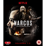 Narcos - Sesong 1-3 (UK-import) (BLU-RAY)
