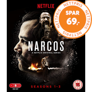 Produktbilde for Narcos - Sesong 1-3 (UK-import) (BLU-RAY)