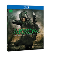 Arrow - Sesong 6 (UK-import) (BLU-RAY)