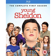 Young Sheldon - Sesong 1 (UK-import) (BLU-RAY)