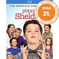 Produktbilde for Young Sheldon - Sesong 1 (UK-import) (BLU-RAY)