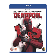 Deadpool 1-2 - The Complete Collection (For Now) (BLU-RAY)