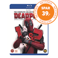 Produktbilde for Deadpool 1-2 - The Complete Collection (For Now) (BLU-RAY)