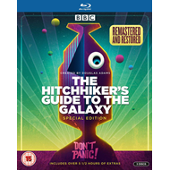 Produktbilde for The Hitchhiker's Guide To The Galaxy: The Complete Series (UK-import) (BLU-RAY)