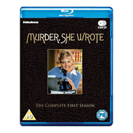 Murder, She Wrote / Jessica Fletcher - Sesong 1 (UK-import) (BLU-RAY)