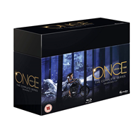 Once Upon A Time - The Complete Series - Sesong 1-7 (UK-import) (BLU-RAY)