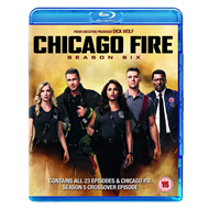 Produktbilde for Chicago Fire - Sesong 6 (UK-import) (BLU-RAY)
