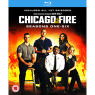 Chicago Fire - Sesong 1-6 (UK-import) (BLU-RAY)