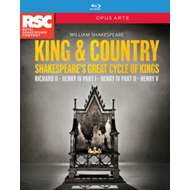 King & Country - Shakespeare's Great Cycle Of Kings (UK-import) (BLU-RAY)