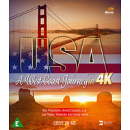 Produktbilde for USA - A West Coast Journey In 4k (UK-import) (4K ULTRA HD)