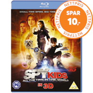 Spy Kids 4 - All The Time In The World (UK-import) (Blu-ray 3D + Blu-ray)