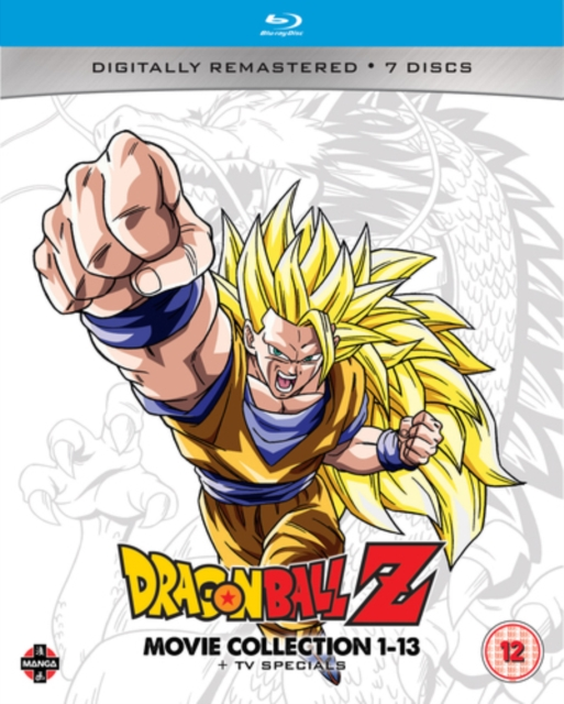 Dragon Ball Z Movie Collection 1 13 Tv Specials Uk Import