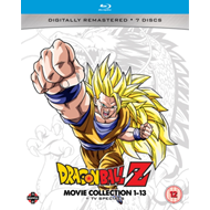 Produktbilde for Dragon Ball Z: Movie Collection 1-13 + TV Specials (UK-import) (BLU-RAY)