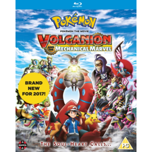 Pokémon The Movie: Volcanion And The Mechanical Marvel (UK-import) (BLU-RAY)