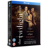 Twilight Saga 1-4 (UK-import) (BLU-RAY)