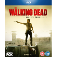The Walking Dead: The Complete Third Season (UK-import) (BLU-RAY)