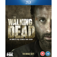 Walking Dead: The Complete First, Second & Third Season (UK-import) (BLU-RAY)