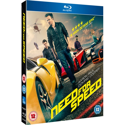 Need For Speed (UK-import) (BLU-RAY)