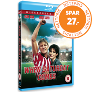 Produktbilde for When Saturday Comes (UK-import) (BLU-RAY)