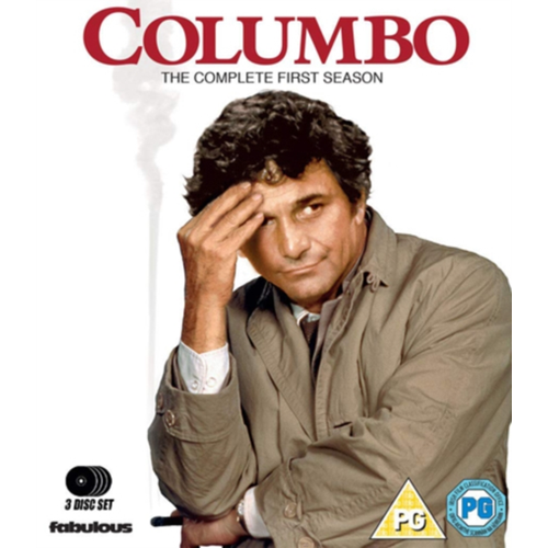 Columbo: The Complete First Season (UK-import) (BLU-RAY)