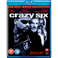 Produktbilde for Crazy Six (UK-import) (BLU-RAY)