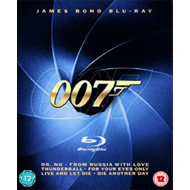 James Bond Collection (UK-import) (BLU-RAY)