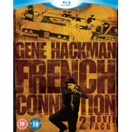 Produktbilde for The French Connection/French Connection II (UK-import) (BLU-RAY)