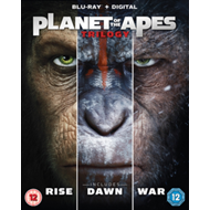 Produktbilde for Planet Of The Apes Trilogy (UK-import) (BLU-RAY)
