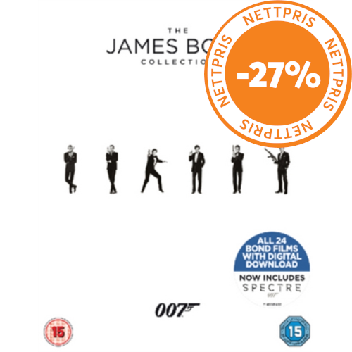 The James Bond Collection (UK-import) (BLU-RAY)