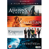 Assassin's Creed/The Martian/Kingsman/Prometheus (UK-import) (BLU-RAY)